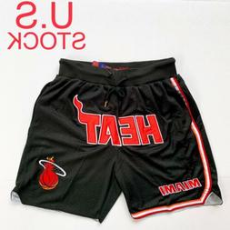 Miami Heat Basketball Shorts Mens Dwyane Wade Vintage Sizes