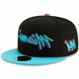 New Era Miami Heat City Edition On-Court 9FIFTY Snapback Adj